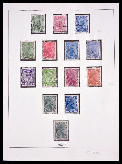 Stamp collection 29858 Liechtenstein 1912-1988.