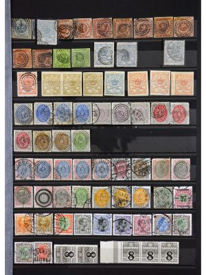 Stamp collection 29860 Scandinavia 1855-1993.