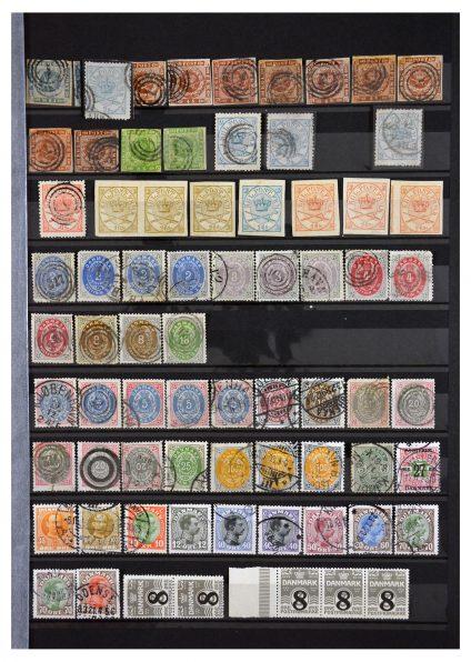 Stamp collection 29860 Scandinavia 1855-1993.