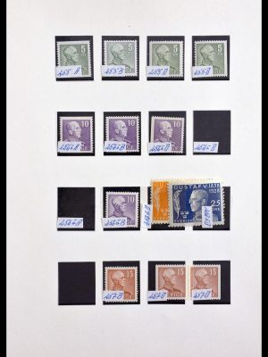 Stamp collection 29875 Sweden 1930-1980.