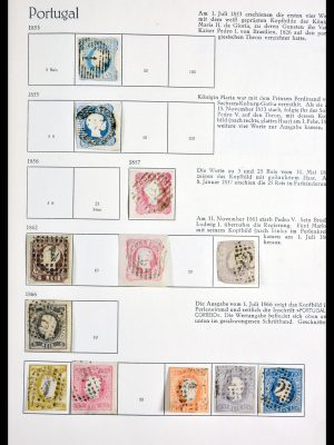 Stamp collection 29891 Portugal 1853-1970.