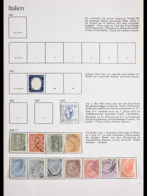 Stamp collection 29893 Italy 1862-1970.