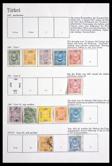Stamp collection 29894 Turkey 1865-1967.