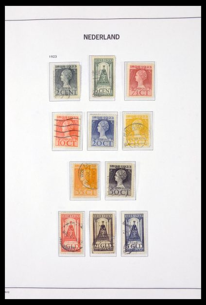 Stamp collection 29895 Netherlands 1852-1976.