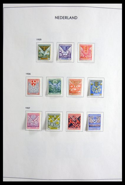 Stamp collection 29899 Netherlands 1928-1980.