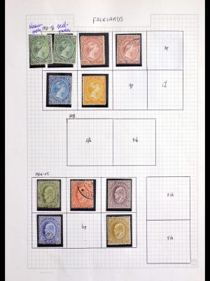 Stamp collection 29907 Falkland Islands 1891-1983.