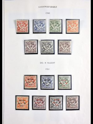 Stamp collection 29908 Surinam airmail and postage dues.