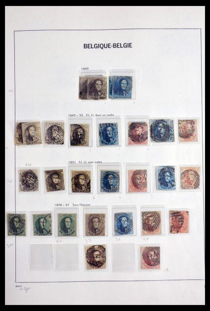 Stamp collection 29914 Belgium 1849-2003.