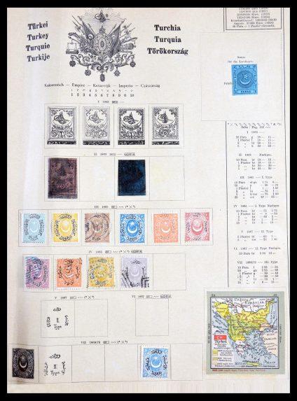 Stamp collection 29915 Turkey 1863-1987.