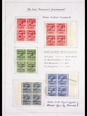 Stamp collection 29921 Ireland 1922.