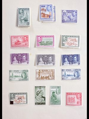 Stamp collection 29932 British colonies 1880-1953.
