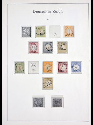 Stamp collection 29938 Germany 1872-1932.