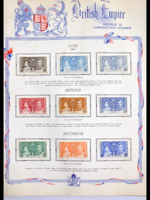 Stamp collection 29940 Great Britain and Colonies 1920-1970.
