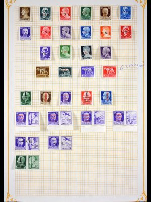 Stamp collection 29947 Italy 1943-1945.