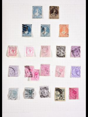 Stamp collection 29955 New Zealand 1855-1965.