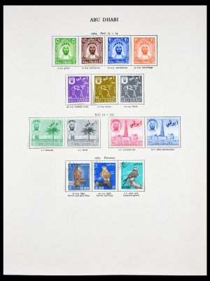 Stamp collection 29957 British Commonwealth 1953-1967.