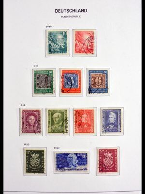 Stamp collection 29995 Bundespost 1949-1969.