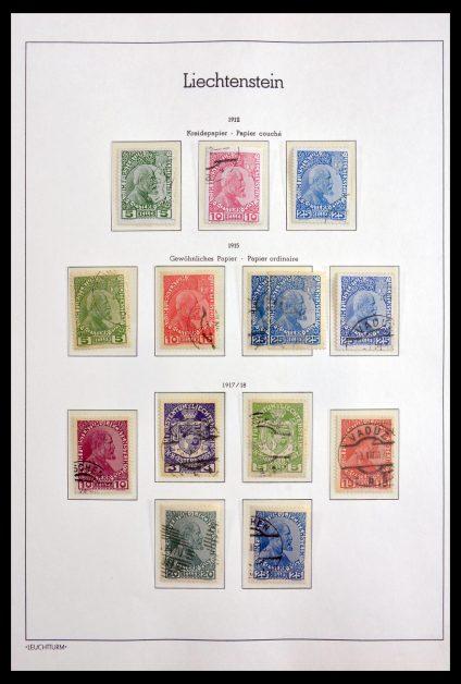 Stamp collection 30024 Liechtenstein 1912-1984.