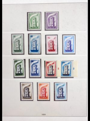Stamp collection 30026 Europa CEPT 1956-1989.