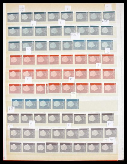 Stamp collection 30037 Netherlands coilstamps 1965-1985.