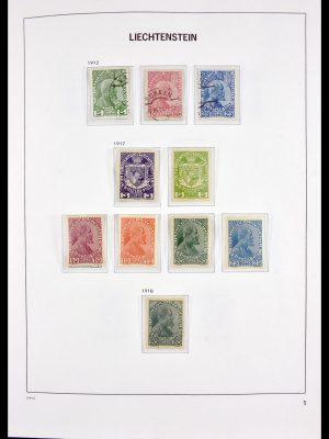 Stamp collection 30045 Liechtenstein 1912-2003.