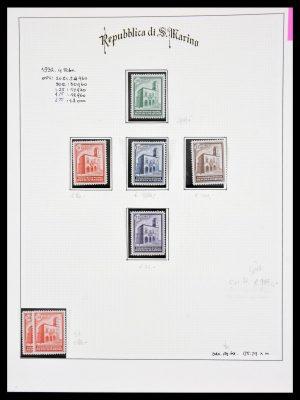 Stamp collection 30046 San Marino 1877-1958.