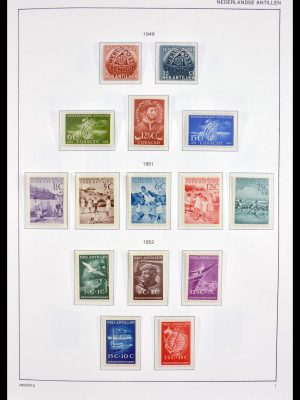 Stamp collection 30049 Netherlands Antilles 1949-2010.