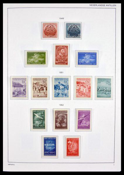 Stamp collection 30049 Netherlands Antilles 1949-2010.