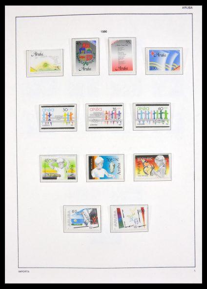 Stamp collection 30052 Aruba 1986-2011.