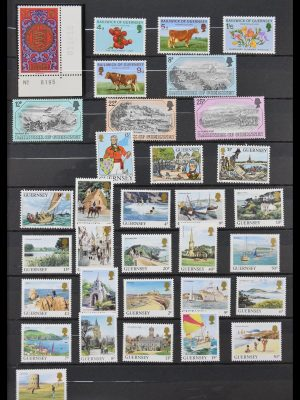 Stamp collection 30068 Channel Islands up to 2015.