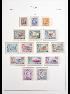Stamp collection 30091 Cyprus 1937-1982.