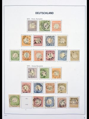 Stamp collection 30097 Germany 1872-1945.