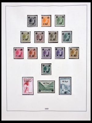 Stamp collection 30100 Luxembourg 1940-2008.