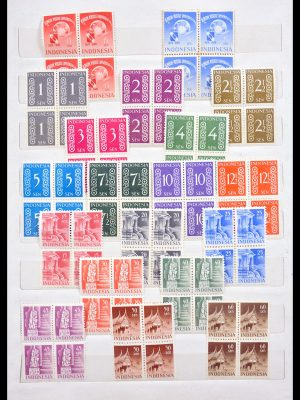 Stamp collection 30108 Indonesia 1949-1964.