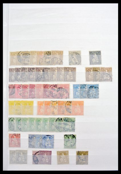 Stamp collection 30110 Switzerland 1862-2011.