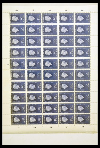 Stamp collection 30125 Netherlands 1969-1972.