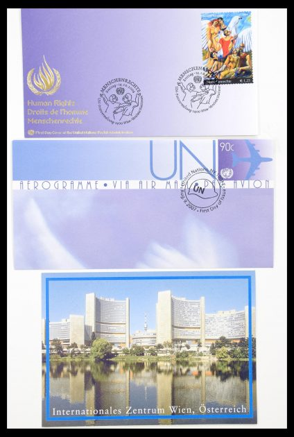 Stamp collection 30127 United Nations first day covers 1975-2011!