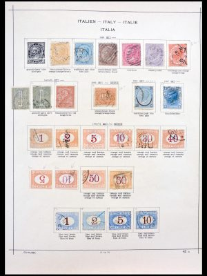 Stamp collection 30143 Italy 1863-1945.