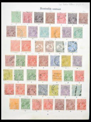 Stamp collection 30144 Australia 1913-1936.