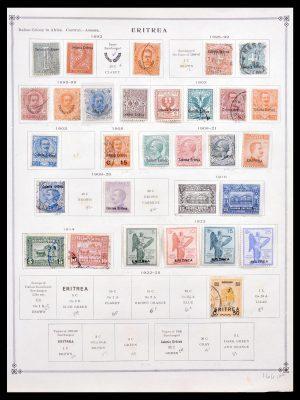 Stamp collection 30147 Italian Eritrea 1892-1940.
