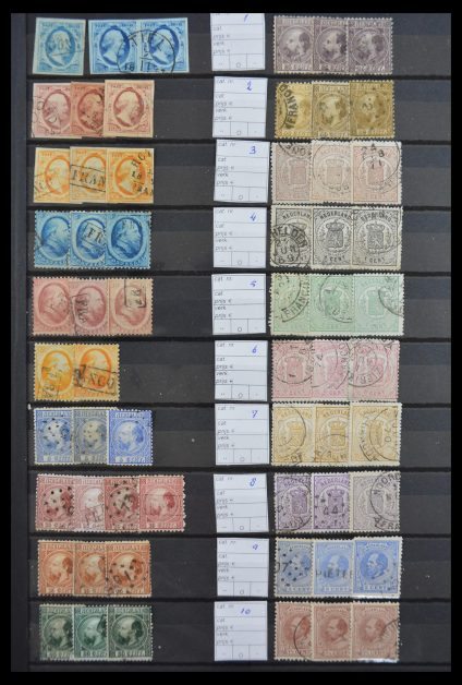 Stamp collection 30160 Netherlands 1852-1970.