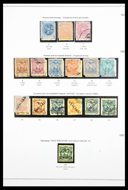 Stamp collection 30171 Ecuador 1900-1950.