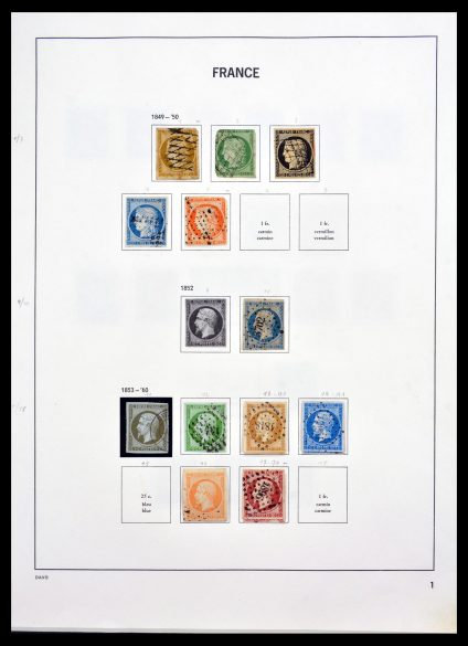 Stamp collection 30179 France 1849-2000.