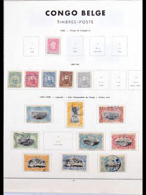 Stamp collection 30183 Belgian territories.