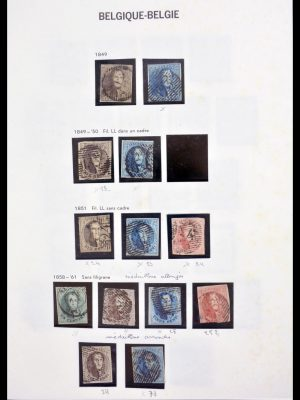 Stamp collection 30186 Belgium 1849-2015.