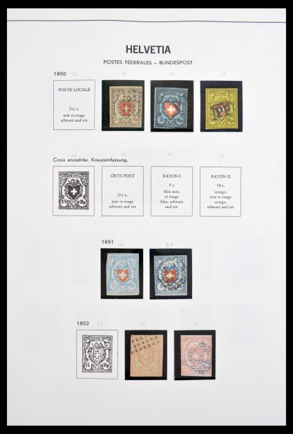 Stamp collection 30200 Switzerland 1850-1984.