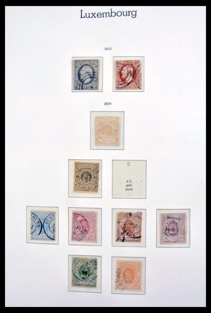 Stamp collection 30216 Luxembourg 1852-2000.