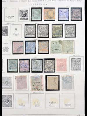 Stamp collection 30217 Turkey 1867-1997.