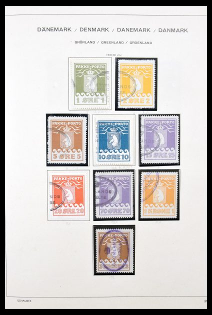 Stamp collection 30221 Greenland 1905-1996.
