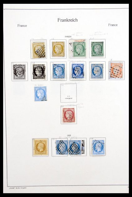 Stamp collection 30227 France 1849-1967.